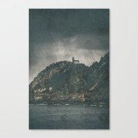 storm Canvas Prints featuring Storm by Rafael Igualada