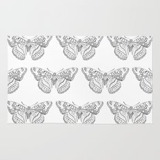 Butterfly dots Rug