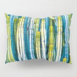 Colorful cactus painting Pillow Sham