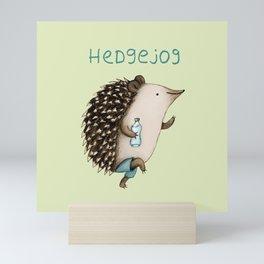 Hedgejog Mini Art Print