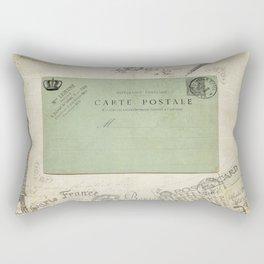 Vintage Grunge - Postcards & Travels Rectangular Pillow