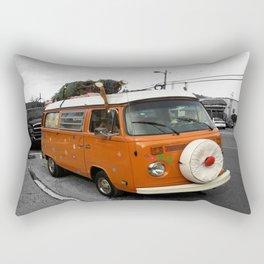 The Holiday Bus Rectangular Pillow