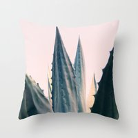 Agave Daydreams Throw Pillow