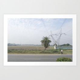 Indian Road Art Print