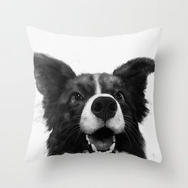 who's a good boy? Throw Pillow