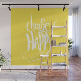 Choose Happy (Buttercup) Wall Mural