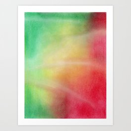 Soft Pastel Lights Art Print
