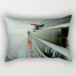 Crusing Alaska Rectangular Pillow