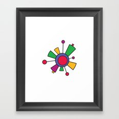 Abstract world Framed Art Print