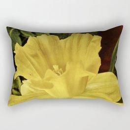 Daffodil at Barthel's Farm Market Rectangular Pillow