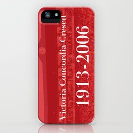 Highbury (Red) iPhone Case