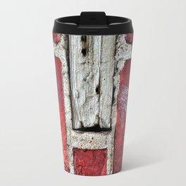 Red Bricks Travel Mug