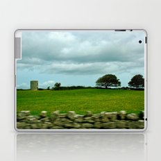 Speeding By The Irish Countryside Laptop & iPad Skin