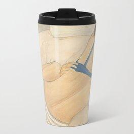 Collapsed Metal Travel Mug