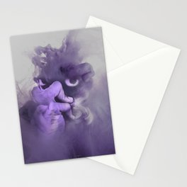 demon is about to rise Stationery Cards