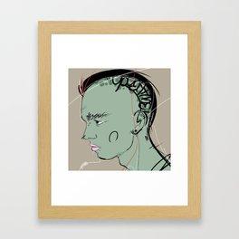 22 Framed Art Print