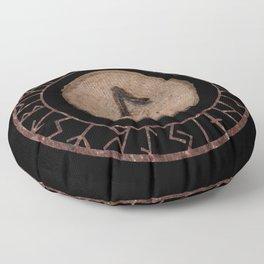 Eihwaz - Elder Futhark rune Floor Pillow