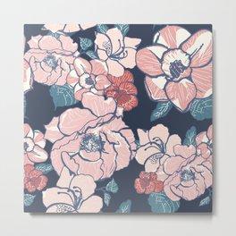 Brooklyn Botanic Garden Blush Metal Print