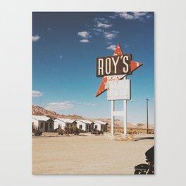 Roy's Retro Motel Canvas Print