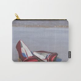Red High-Heeled Shoes Carry-All Pouch
