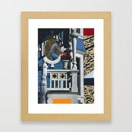 Rear.Window Framed Art Print