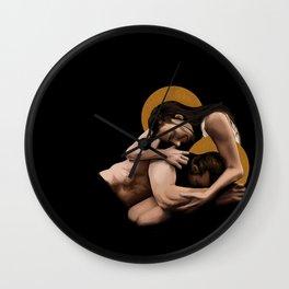 pride pieta Wall Clock