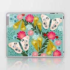 Buckeye Butterly Florals by Andrea Lauren  Laptop & iPad Skin