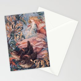 """""""Morning Dew"""" by Franklin C. Pape' 1911 Stationery Cards"""