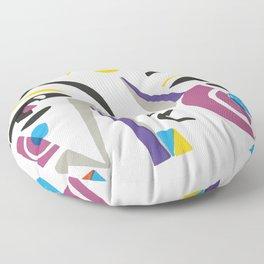 Abstract Portrait - 1 Floor Pillow