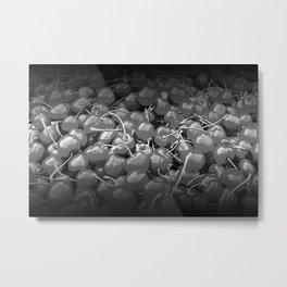 cherries pattern reaclibw Metal Print