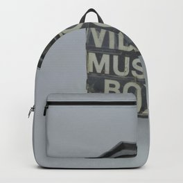 Video Music Box Backpack