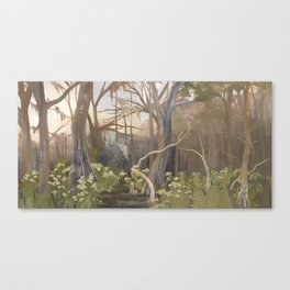 Afternoon at Manatee Springs Canvas Print