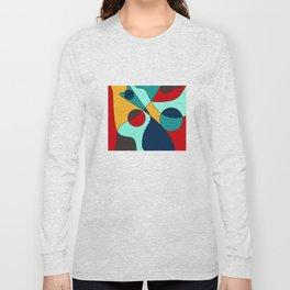 Abstract pattern Cuts Long Sleeve T-shirt