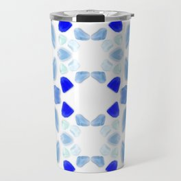 Sea Glass 4 Travel Mug