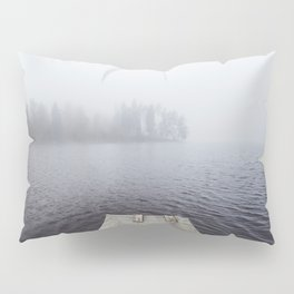 Fading into the mist Pillow Sham