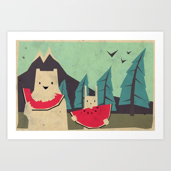 I want moaarrr! Art Print