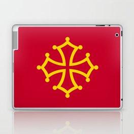 Midi Pyrenees france country region flag Laptop & iPad Skin