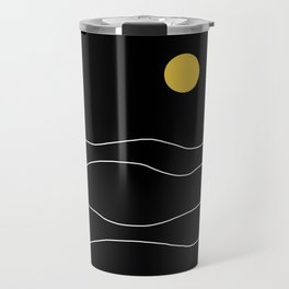 Black Ocean Travel Mug