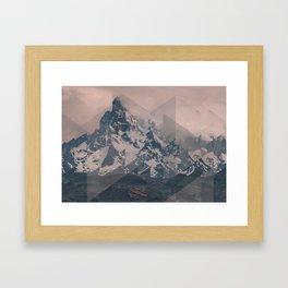 Perito Moreno COL Scattered Landscapes Framed Art Print