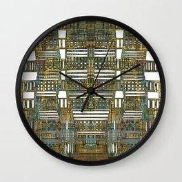 LAY OUT 01 Wall Clock