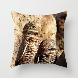 Looking For Danger Throw Pillow