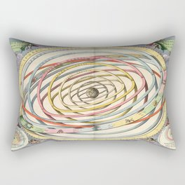 Harmonia Macrocosmica Planetary Orbits Rectangular Pillow