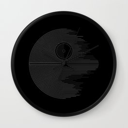Minimalist Battlestation Wall Clock