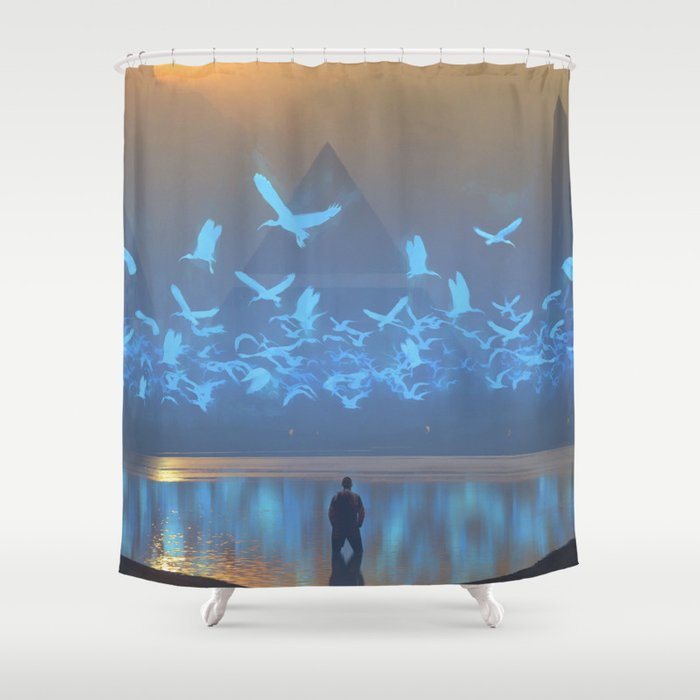 Daze Shower Curtain
