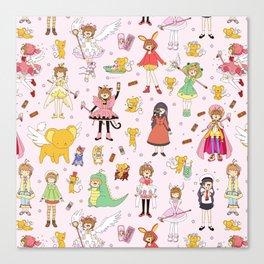 Cutest Cardcaptor! Cardcaptor Sakura Doodle Canvas Print