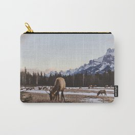 Gang of Elk in Banff National Park Carry-All Pouch