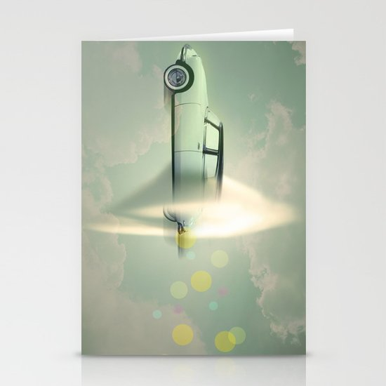 supersonic citroen Stationery Cards
