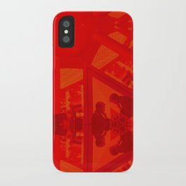 BoxHill-Red iPhone Case