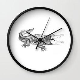 The Crocodile Wall Clock