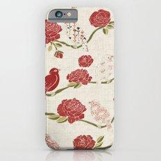 Nightingale and Rose Slim Case iPhone 6s